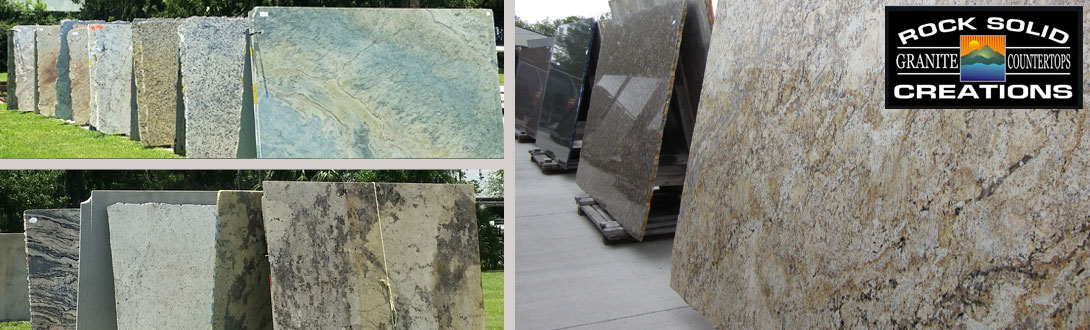 Our Granite Inventory. Here At Rock Solid ...